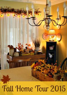 fall decor tour #fall #decoratingideas #fallhometour