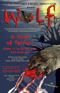 Lakes Area Latest: Beware of the Big Bad Wolf  http://www.lakesarealatest.com/2014/10/beware-of-big-bad-wolf.html
