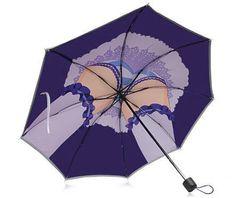 傘をスカート