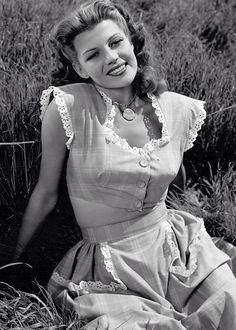 Rita Hayworth, circa 1945