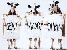 Eat more chiken #FunnyAdvertising