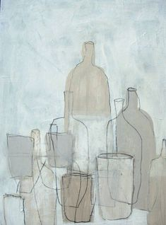 "Saatchi Art Artist pouke halpern; Painting, ""i colori di Morandi"" #art"