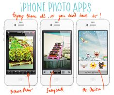 All about Iphone photo apps