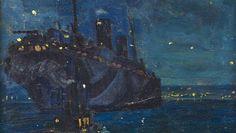 Arthur Lismer Halifax Bay WWi