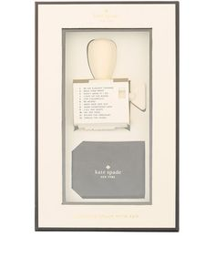 A really cute idea - rotating stamp from Kate Spade at Libery