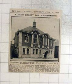 1909-Mr-Carnegie-039-s-Gift-To-Walthamstow-New-Central-Library