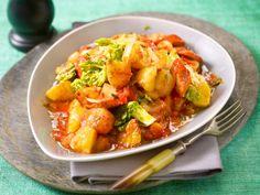 Unser beliebtes Rezept für Wiener Kartoffel-Gulasch und mehr als 55.000 weitere kostenlose Rezepte auf LECKER.de.
