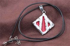 2015 Hot Network Game Dota 2 Sign Pendant Necklace Enamel Necklace DOTA 2 Roshan Shield Pendants Necklace