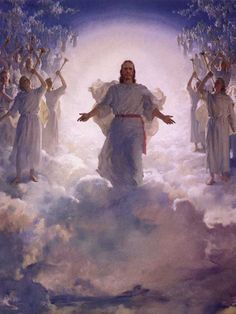 Heaven - I love this because it is a visual reminder of what our loved ones see when they pass from this life.