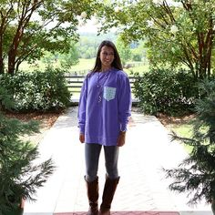 Finally feels like fall!!! Get your long sleeve FratCo. pocket tees ready {FraternityCollection.com}!! #FratCo #FraternityCollection #FratCollection