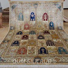 QUM SILK RUG 2x3 m handmade silk carpet four seasons silk... https://www.amazon.com/dp/B01MSLT1W9/ref=cm_sw_r_pi_dp_x_SX8kybTRKABJK