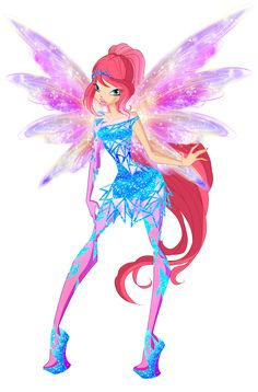 Here is Roxy, the Fairy of Animals from Winx Club in all styles from season 5 of the show. She really deserved to stay a Winx member and one of the protagonists after instead of get demoted to a. Las Winx, Barbie Images, Decoupage, Bloom Winx Club, Anime Qoutes, Barbie Party, Muse Art, Club Design, Fairy Princesses