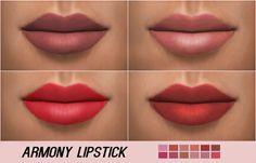 Kenzar Sims: Armony Lipstick • Sims 4 Downloads