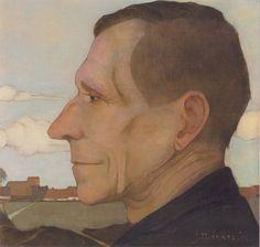 Portret van Zijn Vader, 1914 by Jan Mankes on Curiator, the world's biggest collaborative art collection. Best Portraits, Dutch Painters, Van Gogh Museum, Collaborative Art, Dutch Artists, Vintage Artwork, Museum Of Modern Art, Sculpture, Art Reproductions