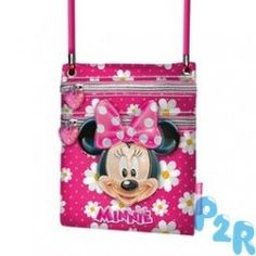 Bolsa De Tiracolo Minnie Flowers Action
