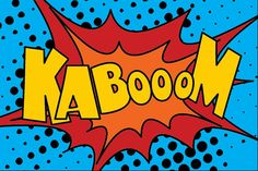 KABOOM Comic Sound