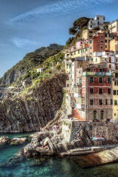 Riomaggiore Italy House IPhone Wallpaper