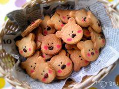 bear cookies Gingerbread Man, Gingerbread Cookies, Tea Party Desserts, Cute Baking, Bear Cookies, Cupcakes, Cookie Time, Edible Art, Cute Food