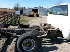 2. Same truck minus the plumbing utility cab.