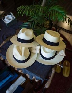 """HATS: Warmer weather or climates call for a hat -the """"Panama Jack"""" style, remains very popular, for most men. Cute Lazy Outfits, Outfits With Hats, Hat For Man, Girl With Hat, Fashion Mode, Mens Fashion, Red Hats, Men's Hats, Fedora Hats"""