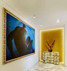 En este departamento en la Ciudad de México, las obras y las vistas son los protogonistas que guiaron el proyecto de interiorismo.