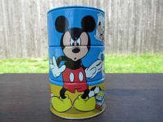 Vintage Micky Mouse Rotating Bank