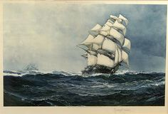 Montague Dawson Biography and Maritime Paintings and Art - 1926 ...
