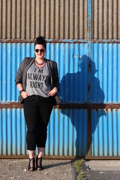Plus size sporty chic look http://anaispenelope.blogspot.fr/2015/07/im-always-right.html