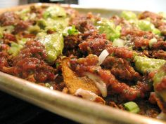 Nachos - O man Hannah! I can't wait for you to make these