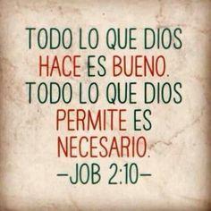 Dios es bueno -