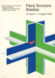 Blaise Bron, Schweizer Mustermesse Basel, 1965