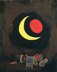 El sueño abstracto Strong Dream (Paul Klee, 1929)