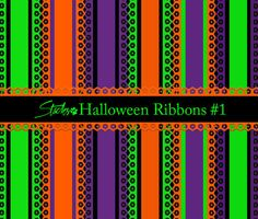 Awesome Halloween Ribbons Background #1. This is one of 2 sets of Halloween ribbons backgrounds I have assembled. It features an eyelet lace trim with a pumpkin design and combinations of Halloween and autumn colors. All coordinate with other Halloween sets I have submitted on Brusheezy. This set includes 40+ ribbon designs in large high resolution .png format. I also have included a .png of the eyelet lace design to use in your own designs. All are on a transparent background. Check out…