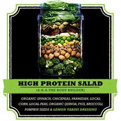 High Protein Salad a.k.a. 'The Body Builder' – Farmer's Fridge