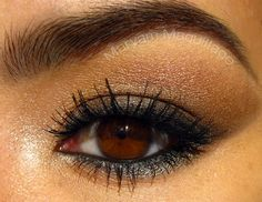 smoldering eye look using NAKED 2