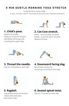 Fitness Workouts, Yoga Fitness, Health Fitness, Morning Yoga Stretches, Morning Yoga Sequences, Morning Yoga Flow, Beginner Morning Yoga, Morning Yoga Routine, Yoga Routines