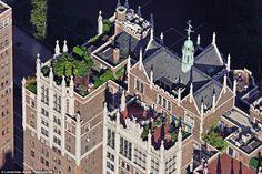 Tudor City rooftop gardens