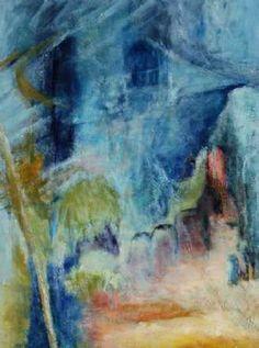 Kunstsamlingen   Artist: Helle L. Christensen   Title: Nr. 349 1001 nat i byen   Height: 80cm,  Width: 60cm   Find it at kunstsamlingen.dk