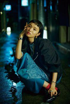 「秋の夜、雨が降る」ビームス 東京物語 VOL. 12 萬波ユカの場合 | GINZA | FASHION / #streetstyle / #MIZUstyle