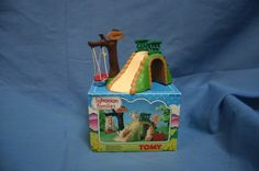 SYLVANIAN FAMILIES - VINTAGE TOMY BABY PLAYGROUND SLIDE SET WITH SWING BOXED | eBay