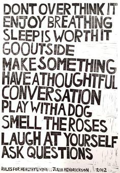 . inspiration positive words