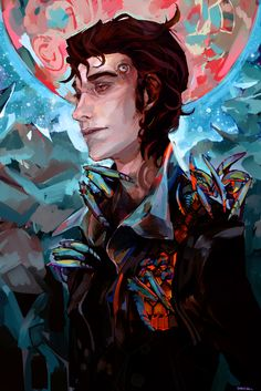 Amazing painting of Rhys