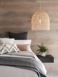 The Beacon Lighting Herman 1 light tall pendant in natural. Master Bedroom, Bedroom Decor, Bedroom Ideas, Scandi Bedroom, Bedroom Inspiration, Pendant Lighting Bedroom, Bedside Pendant Lights, Home Improvement Center, Interior Styling