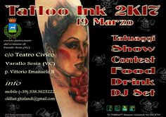 TATTOO INK 2K17 - arte in Valsesia by Massimo Ghislandi - the ink.bOss- by Old