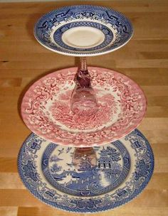 Recycled cake stand