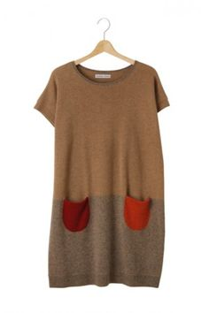 Tsumori Chisato--I love that this looks like something you've had forever and maybe washed incorrectly