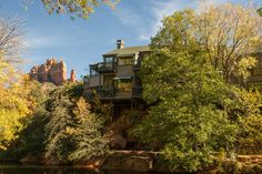 (PHOTO: The Inn Above Oak Creek) Best bargain hotels in the world (according to TripAdvisor): 3. The Inn Above Oak Creek, Sedona, Arizona (The Inn Above the Creek boasts rooms which offer guests incredible views of Sedona's iconic Oak Creek, selected rooms also have private decks which overlook the beautiful scenery. Rooms start at £60 per night.)