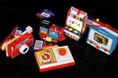 Anne's Odds and Ends: Fisher Price Friday - Dept 56 Fisher Price 2014 Ornaments