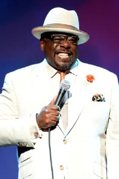 Cedric the Entertainer Cedric The Entertainer, Black Comics, Black Actors, Panama Hat, Afro, Going Out, Laughter, Comedy, Suit Jacket