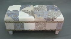 Luxurious Bench Upholstered in Plush Minky by JohnsonandEaton